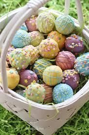 Cake Balls Decorating Ideas Unique Skinny Easter Egg Cake Balls Skinnytaste