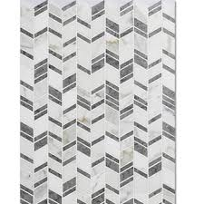 Cheveron Pattern Unique Random Chevron Pattern Beautiful Interior Nonslip Bathroom Wall