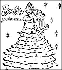Free Barbie Coloring Pages To Print Unique Barbie Coloring Pages Aias