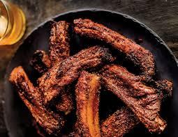air fryer memphis style bbq pork ribs