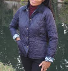 Barbour Ladies Liberty Liddesdale Quilted Jacket - Navy ... & Click on the thumbnail for a larger image Adamdwight.com