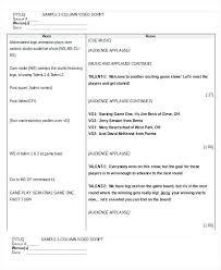 cv video template video script template word microsoft screenplay mac for cv pdf