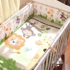animal crib bedding baby crib bedding set lovely animal monkey giraffe crib per set kids bedding