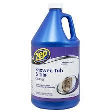 zep commercial shower tub tile 128 fl oz shower bathtub cleaner