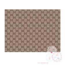 Gucci Pattern Interesting Gucci Edible Icing Sheet