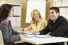 best interview questions for employers to ask applicants two women and a man in a job interview