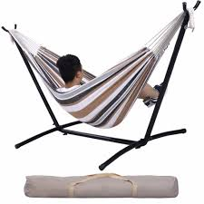 two person hammock with stand. High Woodworking Two Person Hammock With Stand