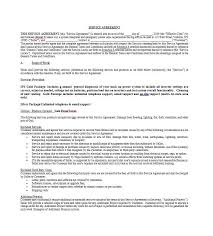 Master Service Agreement Template India 50 Professional Service ...