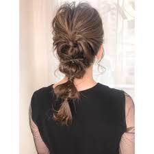 ハーフアップヘアセット結婚式グレージュフェアリー Cecil Hair