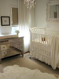 sheepskin rug nursery mixture of shine and warmth neutral palette white that gives a clean impression