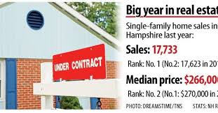 Property Sales Contracts Best NH Home Sales Reached New Heights In 44 New Hampshire