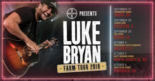 10th Anniversary Of Luke Bryans Farm Tour Begins In