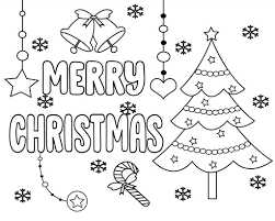 Cheer your child this holiday season with christmas coloring sheets. Free Printable Merry Christmas Coloring Pages
