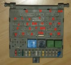 help fuse box plugs body interior ice gtidrivers com the letters on this should tally up the letters on the haynes diagrams afaik