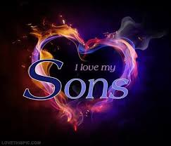 I Love My Sons Images