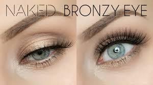 original palette bronze smokey eye tutorial lashes love leather you