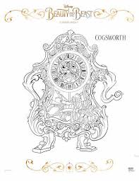 Free Beauty And The Beast Coloring Pages Mommy Mafia