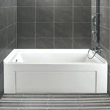 60 x 32 bathtub alcove soaking home
