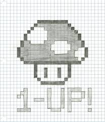 Minecraft Drawings On Graph Paper Magdalene Project Org