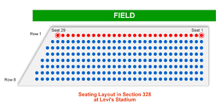 San Francisco 49ers Seating Chart 3d San Francisco 49ers Levis Stadium Seating Chart