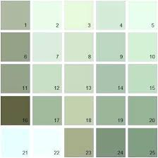 Green Paint Color Chart Green Paint Samples Goodgrub Co