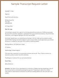 Ideas Collection Authorization Letter Request Transcript Sample