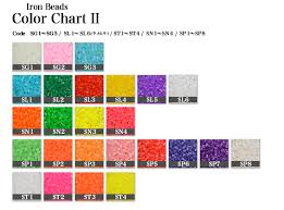 Bead Color Chart Beads S13 Approximately 1 000 Case With Iron Beads Black Single Color Bag