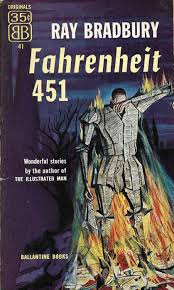 fahrenheit 451 book cover poster first editions of ray bradbury s fahrenheit 451 1953 of fahrenheit