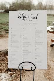 Wedding Table Assignments Template Luxury Seating Plan
