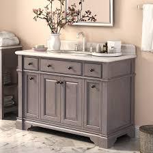 bathroom single sink vanities. stylish abel 48 inch rustic single sink bathroom vanity marble top cabinets designs vanities s