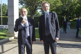 Visita del Ministro Manfredi ai laboratori dell'IRBM - Piero Di Lorenzo