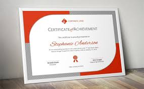 Certificate Of Participation Template Ms Word Certificate