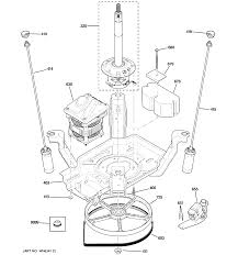ge model wpre6150k2wt residential washers genuine parts