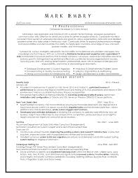 It Resume Examples Top Resume Samples Executive Format Resumes by New York Resume 94