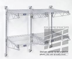 wall mount wire shelves