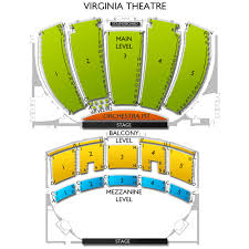 Virginia Theater Seating Chart Virginia Theatre Tickets