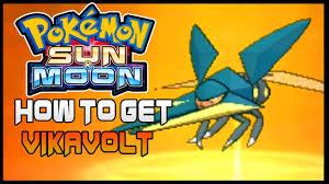 Pokemon Sun And Moon How To Evolve Charjabug To Vikavolt How To Get Vikavolt