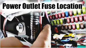 youtube com fuse box location 2009 honda accord 9thgen honda accord power outlet fuse location