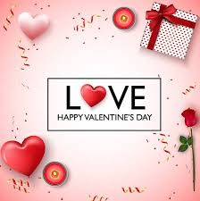 Valentines Day Gifts Cool Vector Illustration Of Happy Valentines Day Background Red Pink