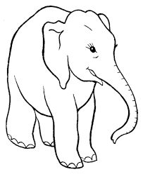 Small Picture Smart Elephant Coloring Pages Elephant Coloring Page and Kids