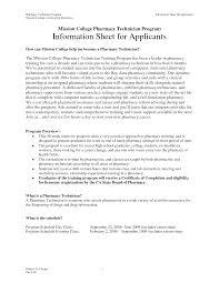 Pharmacy Technician Externship Resume Examples Resumes Pharmacy Tech Resume Technician Externship Skills Objective 2