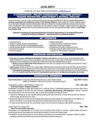 Project Administrator Sample Resume