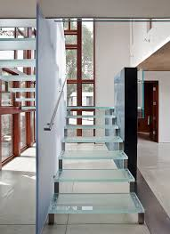 view in gallery modern glass staircases allow unhindered flow of light