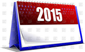 template of desk calendar on 2016 year royalty free vector clip art