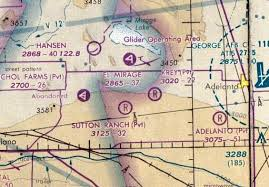 Socal Sectional Chart Abandoned Little Known Airfields California Southern