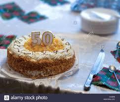 50th Birthday Cake Stock Photos 50th Birthday Cake Stock Images
