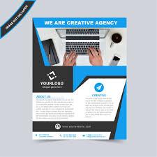 Flyer Design Vector Template Free Download Wisxi Com