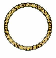 Circle Border Border Ring Frame Design Circle Decoration Round