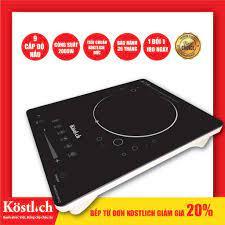 Bếp từ đơn Kostlich cảm ứng 2000W - bảo hành 30 tháng, giá rẻ