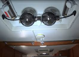 review test and diy project to install two narva 12 volt fans into off road caravan rv for camping